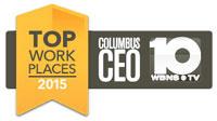 Columbus CEO Top Work Places 2015 Award