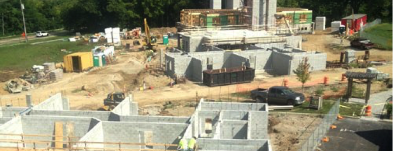 Construction framing for the flats