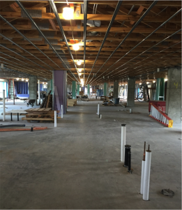 Construction in riverstone