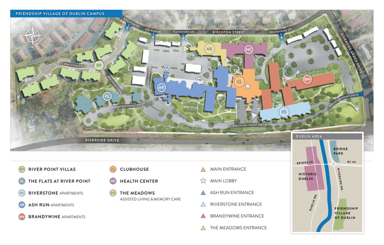 FVD Campus Map