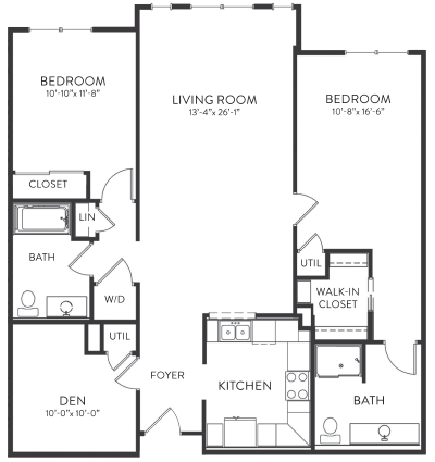 Crossberry Floorplan