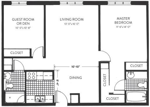 Fitzgerald Floorplan