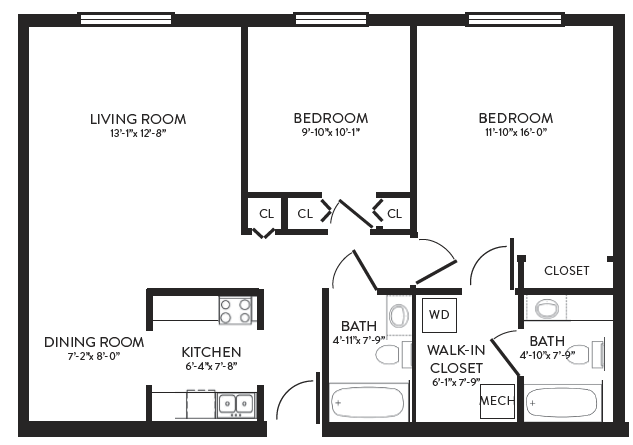 Delaney Floorplan