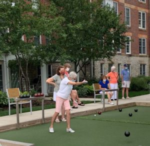 Bocce at Friendship Village of Dublin