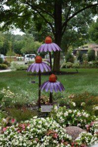 Selene Garden Sculpture at Friendship Village of Dublin