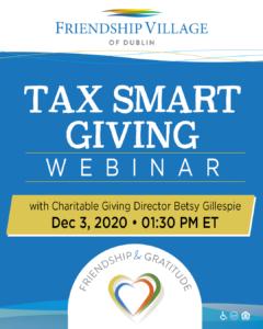 Tax Smart Giving Webinar
