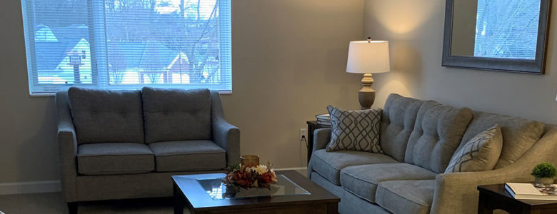 The Allenwood One Bedroom Senior Living Apartment