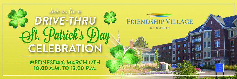 Details on St. Patrick's Day Drive-thru Celebration