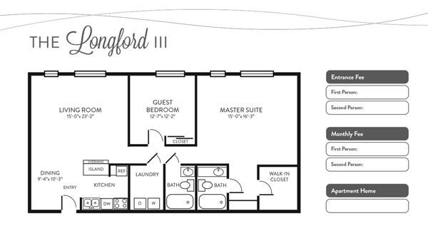 Longford III floor plan