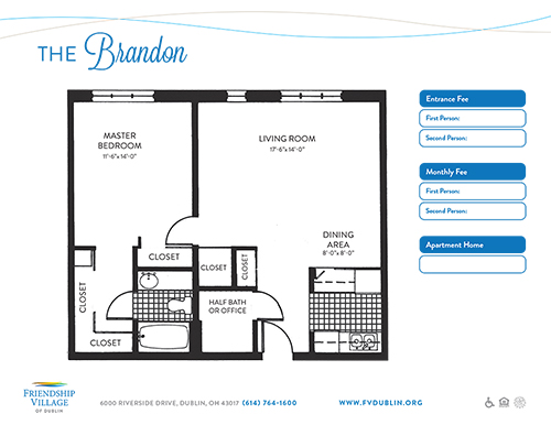 The Brandon Independent Living Apartment