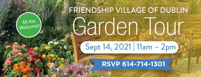 Garden tour graphic